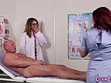 Nurse, Femdom, Fetish, Hospital, Patient, European, Cfnm, Humiliation, Handjob, British