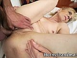 Assfucking, Hardcore, Grandmother, High definition, Doggystyle, Blonde, Old, Anal, Hairy, Anal toys, Toys, Granny, Bent over