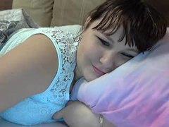 Cute, Fat, Chunky, Webcam, Babe, Amateurs, Boobs, Tits, Brunette, Big tits