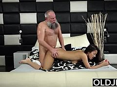 Hardcore, Sex, High definition, Old and young, Blowjob, Doggystyle, Early morning, Old, Young, Brunette, Fucking, Teen, Quickie, Handjob, Bent over