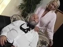 Cumshot, Teen, Shaved pussy, Ass, Bent over, Big tits, Dad and girl, Doggystyle, Big ass, Handjob, Blonde, Old and young, Pussy, Old, Cowgirl, Riding, Tits, Hairless, Old man
