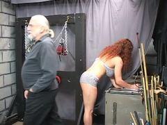 Punished, Mature, Fat, Gagging, Choking, Lingerie, Torture, Bdsm, Disgrace, Basement, Big tits, Bound, Sex, Slave, Fetish, Boobs, Bbw, Masked, Rough, Master, Maledom, Old, Extreme, Redhead, Tits, Blindfolded, Feet