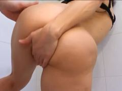 Assfucking, Taboo, Old woman, Bathroom, Milf, Young, Not son, Old, European, Fucking, Mommy, Ass, Anal, Mature, French