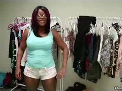 Black teen, Teen, Ebony, Handjob, Black, Interracial