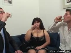 Group, Mom and boy, Mature, German, Boobs, Banging, Huge, Gangbang, Blowjob, Teen, Mommy, High definition, Tits, Brunette, Big tits