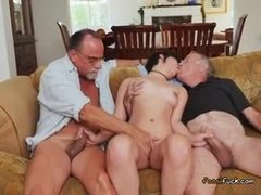 Dad and girl, Teen, Masturbation, Handjob, Australian, Fingering, 3 some, Old, Young, Cock, Group, Brunette, Old man