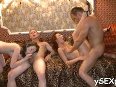 Small tits, Russian, Tits, Group, Passionate, Party, Amateurs, Teen