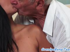 Grandfathers put the dicks in the chicks asses