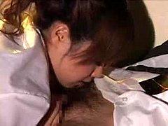 Japanisch Krankenschwester Blowjob Patient